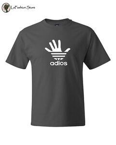 Adios Adidas Funny Tee humor parodia camisetas S 5XL eBay