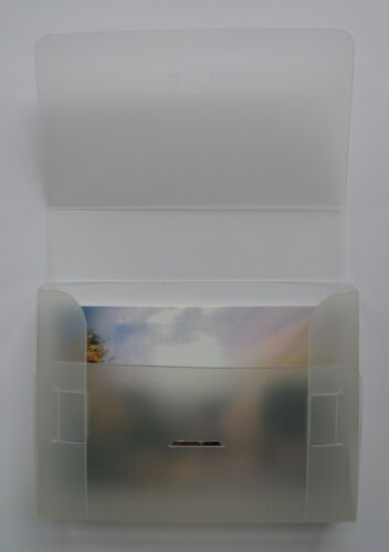 Qty of 2 38mm capacity Postcard collectors box