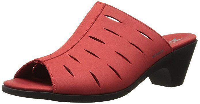 Woman's Strawberry Bucksoft 9024 Mephisto Cyrane  Sandals (Cadix) Size 10 / 40