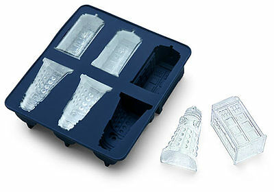 Officially Licensed Doctor Who Ice Cube Tray Candy/Chocolate/Baking Mold *NEW*