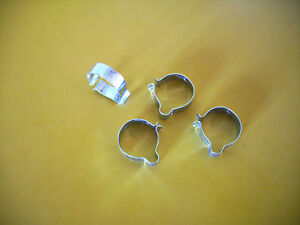 Vintage-Cable-Clip-Wiring-Clip-7-8-034-Handlebar-Tubing-X-4