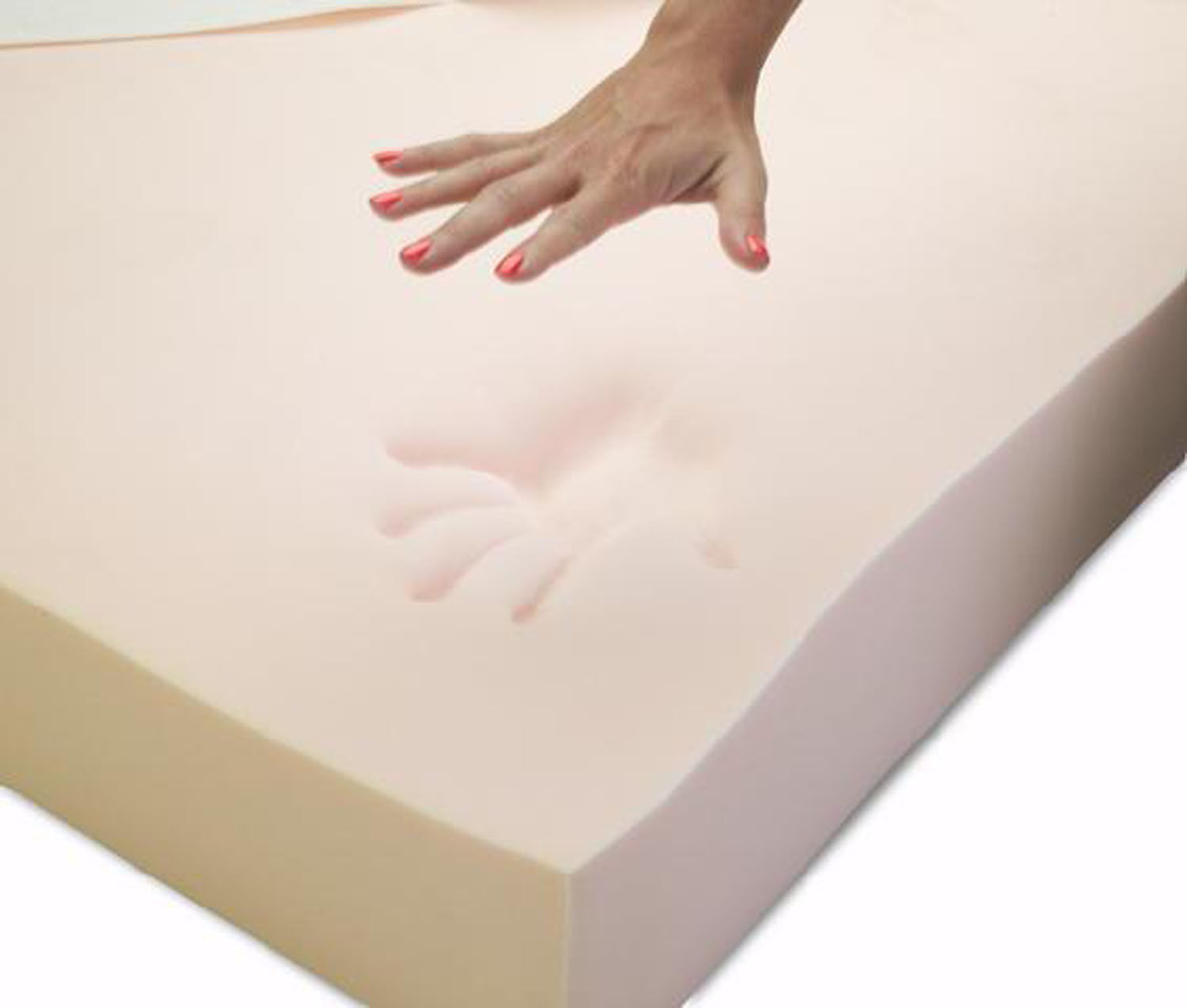 100% Memory Foam 2 Inch Mattress Topper Available Double Orthopaedic