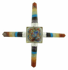 Multi-Pyramide Energie Generator 4 Punkte Edelsteine Reiki geistiges heilen