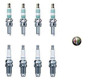 Denso-Kit-8-Candele-Alfa-Romeo-145-147-156-GTV-Spider-1-4-1-6-1-8-2-0-Twin-Spark
