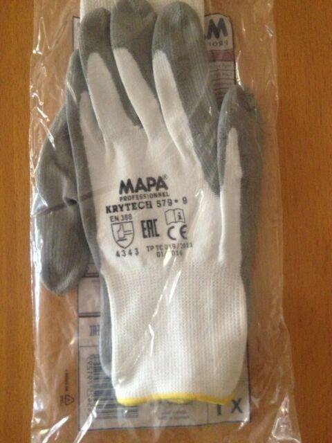 MAPA Ultrane 553  Größe 10 Arbeitshandschuh für Präzionsarbeiten  10 Paar