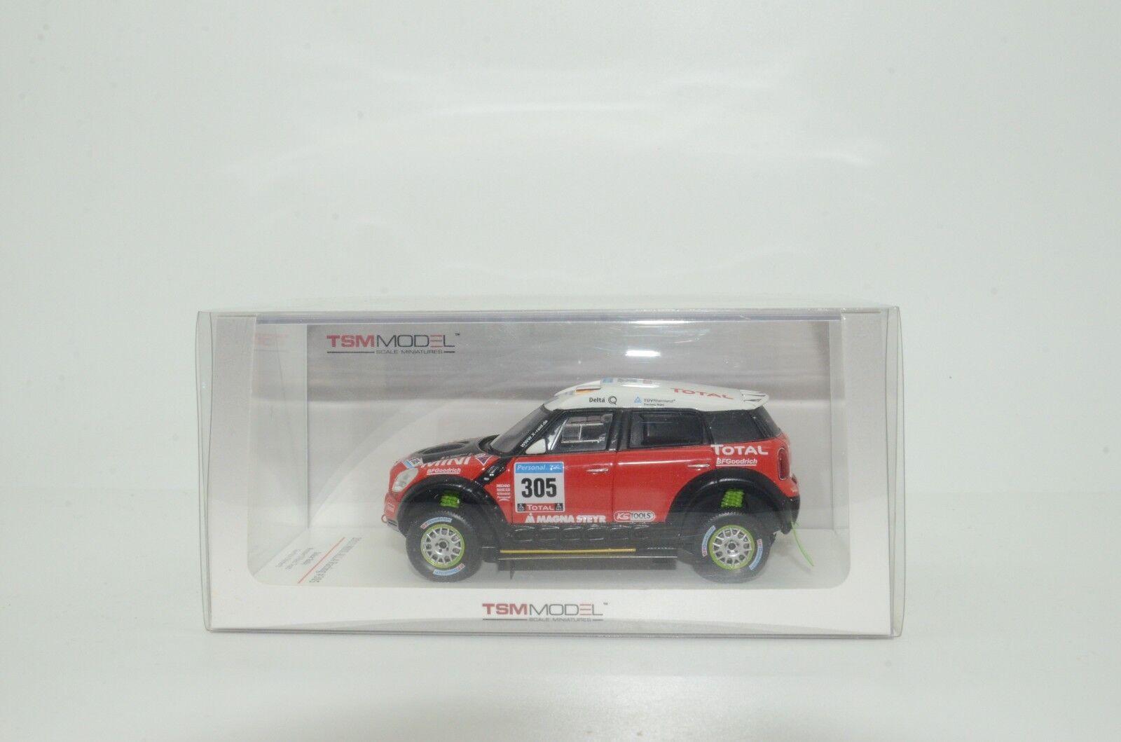 Mini All4 Racing  305 Rally Dakar monstruo True Scale Models TSM 114351 1 43