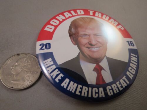 """WHOLESALE LOT OF 24 TRUMP FOR PRESIDENT 3/"""" BUTTON Make America Great Again photo"""