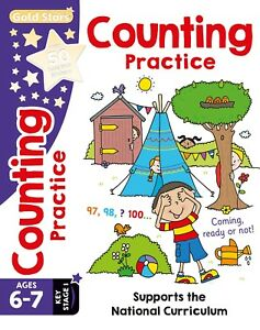 GOLD-STARS-COUNTING-PRACTICE-6-7-BRAND-NEW-FREEPOST-UKD