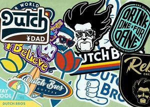Dutch Bros Coffee Sticker