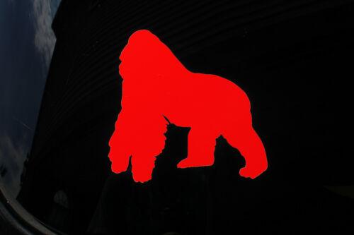 Silverback Gorilla Decal Quality Oracal Vinyl Decal Window Car Laptop