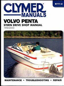 1994 2000 huge volvo penta stern drive service shop manual new b771 rh ebay com volvo penta stern drive workshop manual volvo penta dps-a stern drive manual