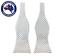 Men/'s Bowtie Silver Grey White Twill Self-tied Bow Tie Weave Diagonal for Men