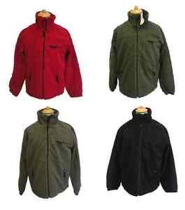 Deerhunter-Shellbrook-Rojo-Negro-Verde-Marron-Impermeable-Chaqueta-de-Pano-Forro