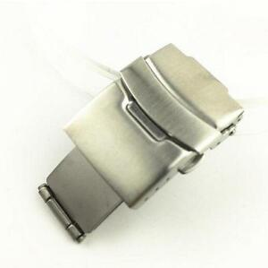 Stainless-Steel-Butterfly-Deployment-Clasp-Watch-Buckle-for-Leather-Straps-Hot