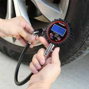 Car Tyre Pressure Gauge Motorbike Digital Air Auto Tire Meter Tester