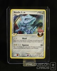 Steelix Uncommon NM-Mint Rising Rivals Pokemon Card - 51//111 GL