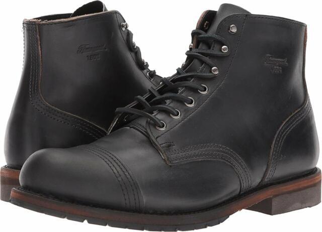 4b937f44707 Thorogood Men's 1892 Dodgeville CXL Leather Black Boot 814-6013