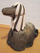 Vtg 1982-98 Artesania De Rosa Rinconada Afghan Hound Dog Signed Retired #121