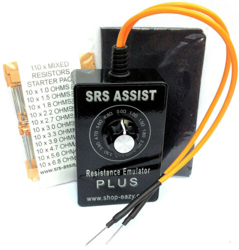 Airbag Bypass Universal Fused Garage Tool Diagnostic Fault Finder Ohms Resistors