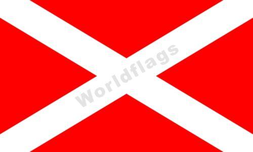 Micronation Flag Kingdom of Elleore Denmark 3X2FT 5X3FT 6X4FT 8X5FT Polyester