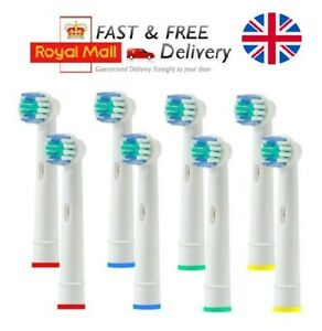 Details about Electric Toothbrush Heads Compatible With Oral B Braun Toothbrush Head Model