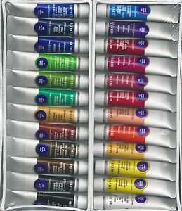 REEVES OIL PAINTS ~ 24 PIECE PAINT SET ~ FREE SHIPPING!!