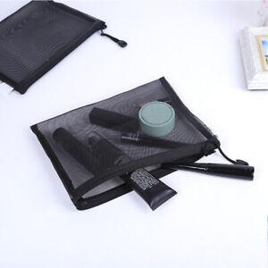 Travel-Cosmetic-Bag-Zipper-Transparent-Net-Toiletry-Kits-Storage-Makeup-Pouch