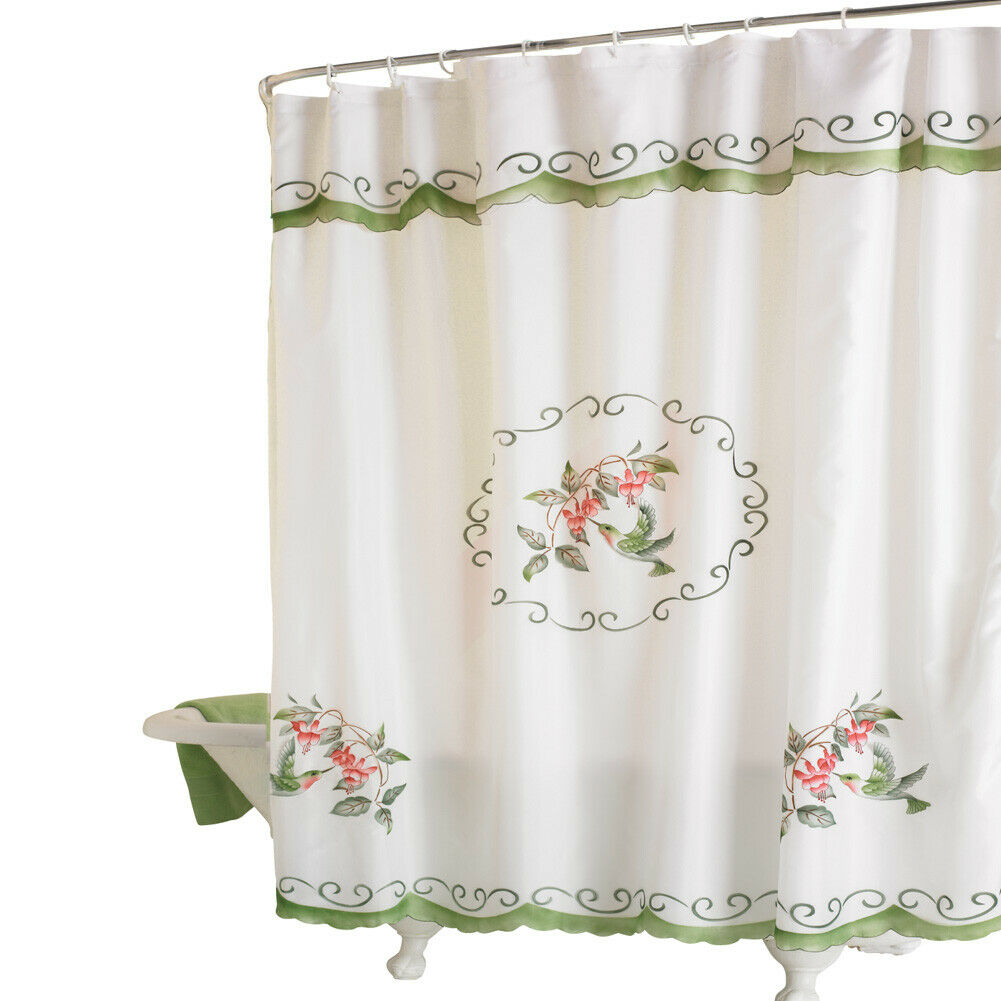 Festive Winter Cardinals And Wreath Shower Curtain By Collections Etc For Sale Online Ebay
