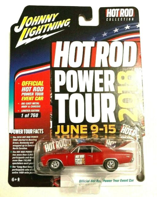 2018 Johnny Lightning Hot Rod Power Tour 1967 Chevy Chevelle SS 1:64 Diecast