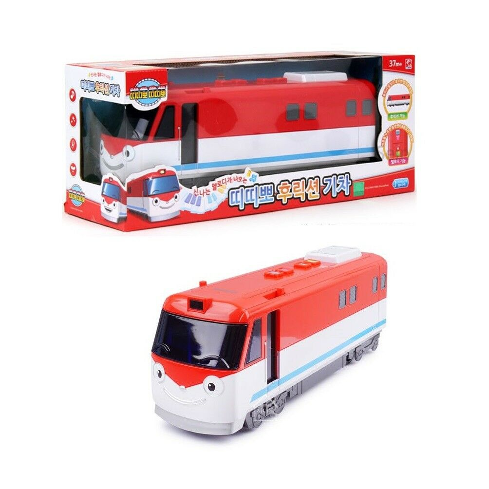 Titipo Titipo Friction Mini Train Melody Play Toy, Gift for Kids