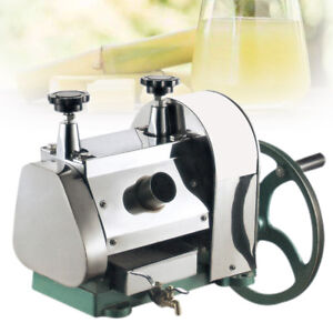 Manual Sugar Cane Juicer Sugarcane Juice Extractor Squeezer Hand Press Machine 190891604248 Ebay