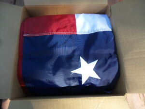 US Flag, 8'x12' Heavy Nylon, Valley Forge for a 32 ft or higher pole. USA made
