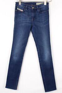 DIESEL Women Skinzee Slim Skinny Stretch Jeans Size W25 L28