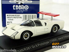NISSAN R381 GROUP 6 PROTOTYPE 1968 -1/43 SCALE MODEL CAR BY EBBRO 43493