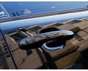 Carbon Black Door Catch Cover Trim Set For 10 11 12 Kia Sorento R