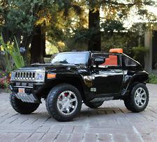 Kids 12V Hummer HX Ride On Toy Truck Car w/ RC Remote Control MP3 - Black