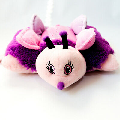 Pink And Purple Butterfly Plush By Pillow Pets Dream Lites 12 X