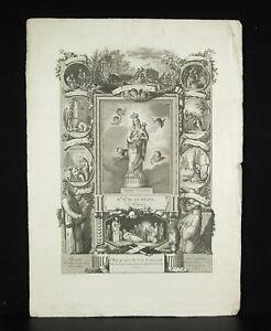 Gravur-Spanien-c1800-Francisco-Jordan-Vida-Activa-Contemplativa-Virgin-Maria
