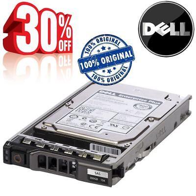 "Dell 15K HDD 6Gbps SAS 300 GB Internal 15000 RPM 2.5 /"" ST9300653SS Hard Drive"