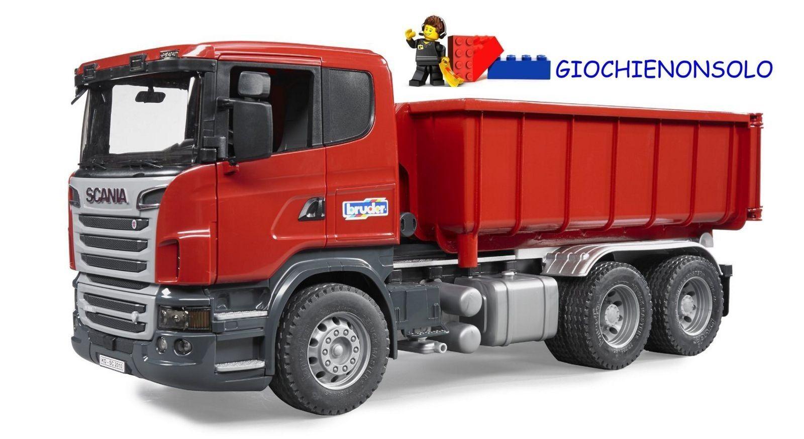 Avoir une maison, avoir de l'amour, as-tu as-tu as-tu BRUDER 03522 -  Scania R-Series camion container ribaltabile | Réduction  | économique Et Pratique  | Art Exquis  e02c42