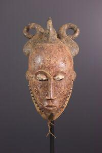 MASQUE-KPAN-PLE-BAOULE-AFRICAN-ART-AFRICAIN-PRIMITIF-ARTE-AFRICANA-KUNST