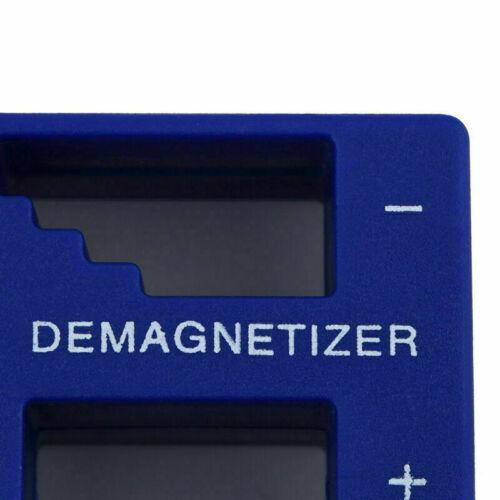 Magnetizer Demagnetizer Magnetic Pick Up Screwdriver Gear Tips Degaussing Z L5F4