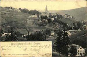 1906 JOHANNGEORGENSTADT Erzgebirge Sachsen Gesamtansicht alte Ansichtskarte