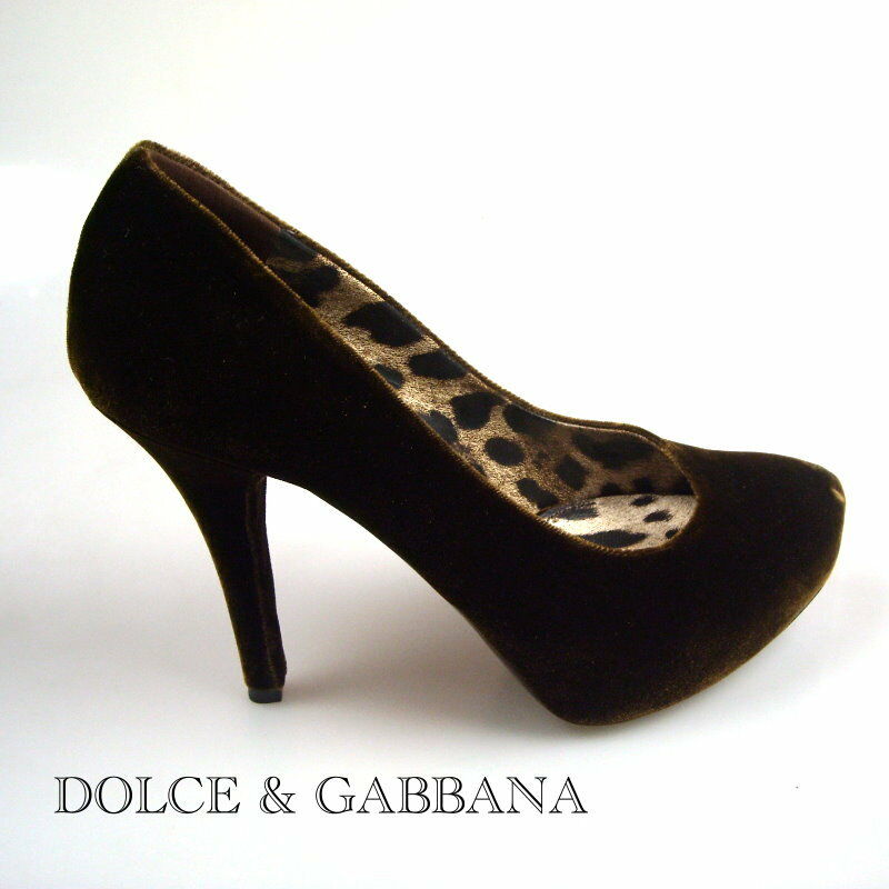 DOLCE & GABBANA DAMEN BUSINESS SCHUHE Damens DECOLTE PUMPS ORIGINALGR. NEW ORIGINALGR. PUMPS 38,5 24ca17