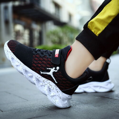 Kids Running Shoes Boys Sneakers Athletic Running Shoes for Girls Outdoor Sports
