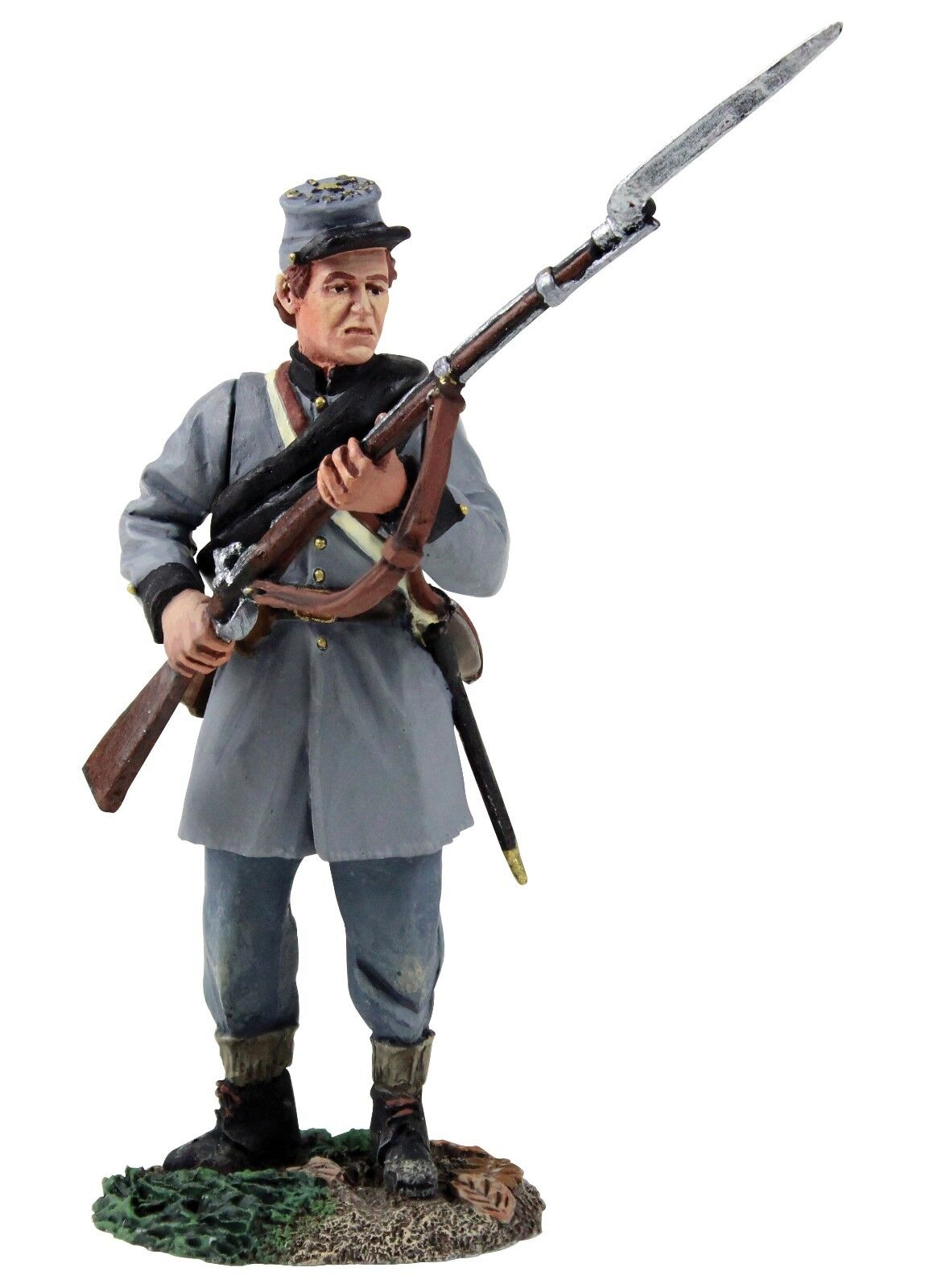 BRITAINS 31258 - Confederate Infantry Texas Brigade Standing Defending No.1