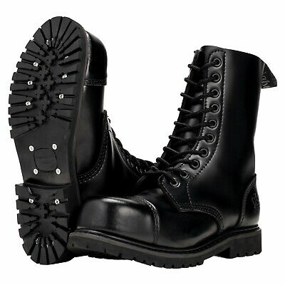 Knightsbridge 10 Loch Springerstiefel Ranger Boots bordeaux