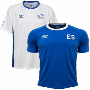 Umbro-Men-039-s-El-Salvador-Soccer-Training-Jersey-Shirt-Color-Options