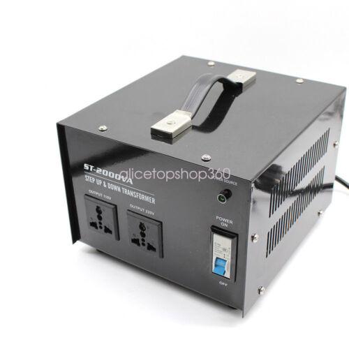 1500Watt 110V to 220V Voltage StepUp//Down Power Converter Transformer Heavy Duty