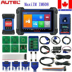 Autel IM608 IMMO Keys Programming OBD2 Diagnostic Tool ECU Coding All key Lost